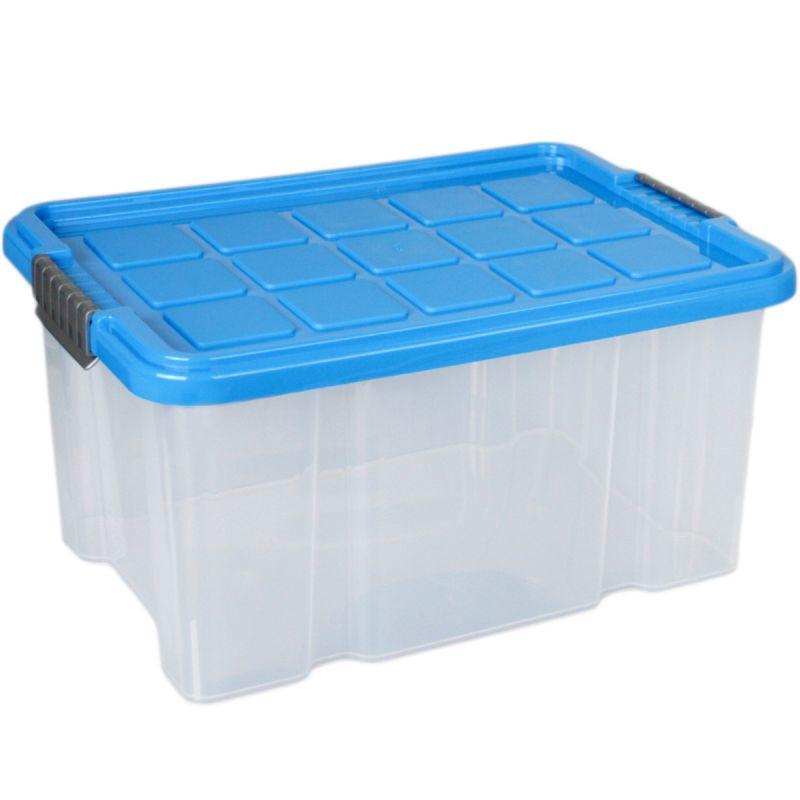 Aufbewahrungsbox stapelbar mit deckel 5 l 30x19x14cm for Spielzimmer 5 sinne