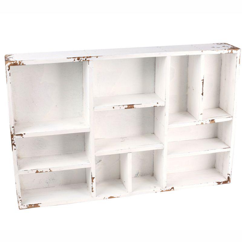 antikholz setzkasten 38 x 29 cm regal holzregal vitrine wandregal miniaturen. Black Bedroom Furniture Sets. Home Design Ideas