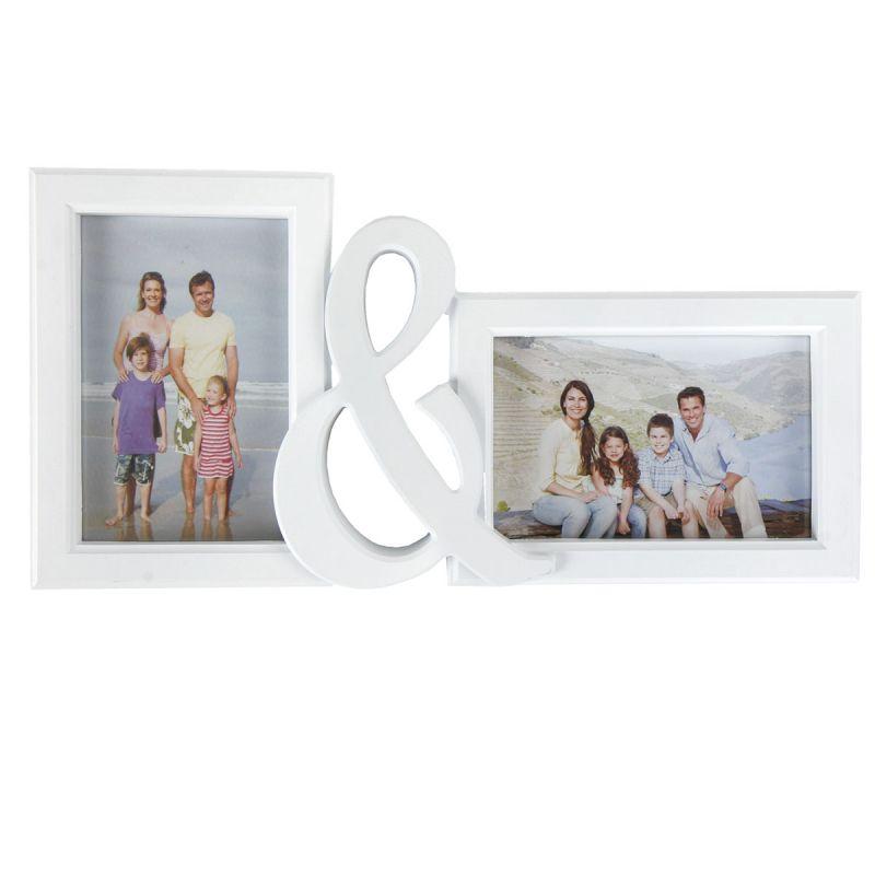 bilderrahmen f r zwei fotos l 36 5 cm fotorahmen hochzeitsbilderrahmen ebay. Black Bedroom Furniture Sets. Home Design Ideas