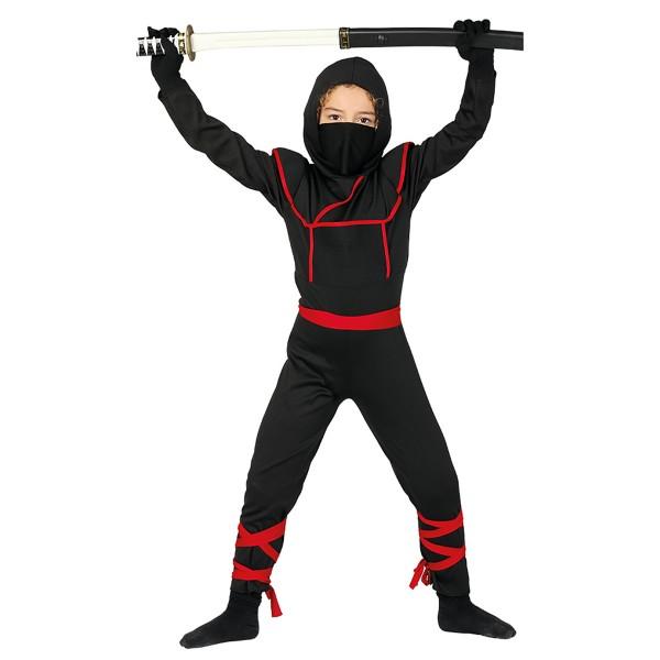 Ninja Krieger Samurai - Kostüm für Kinder