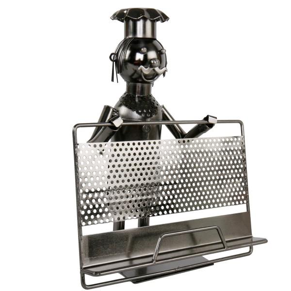 """Kochbuchständer """"Koch"""" aus Metall"""