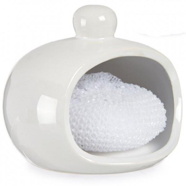 Spülschwamm Aufbewahrung aus Keramik