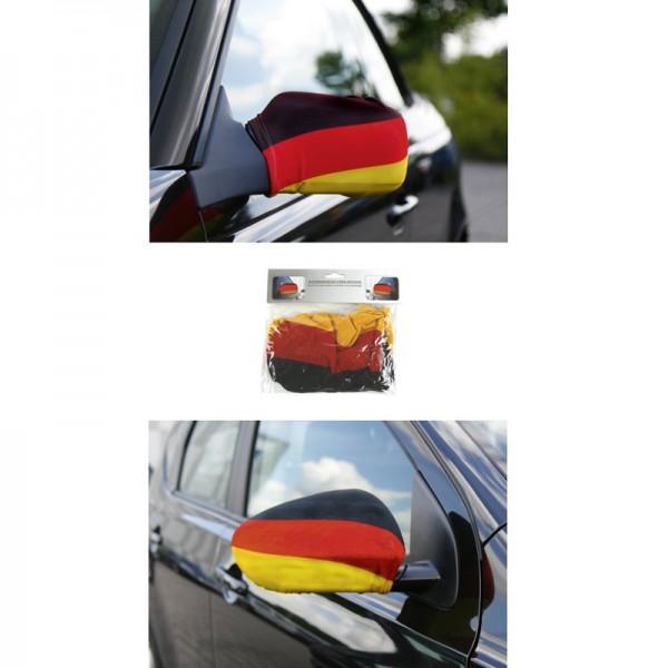 """Außenspiegelverkleidung """" Deutschland """" 2er Set"""