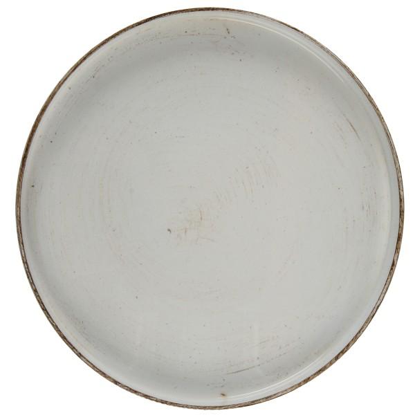 Tablett, weiß glänzend, rund Ø 27 cm