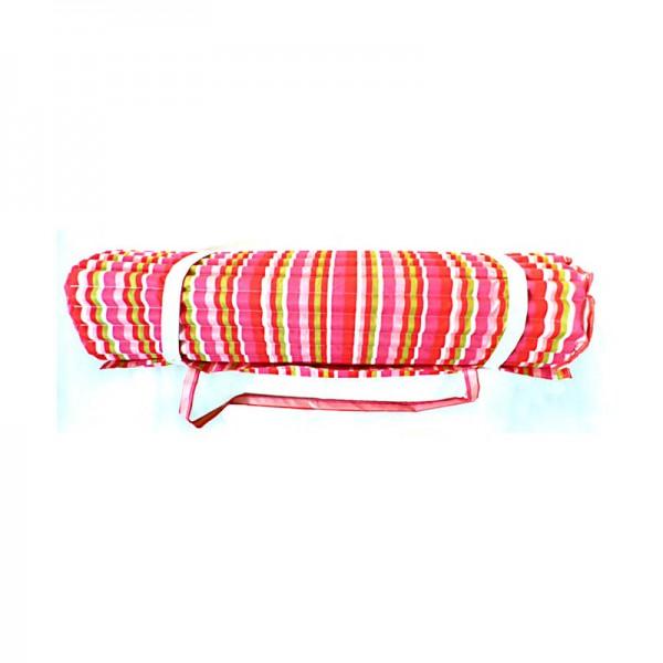 Strandmatte, Polyester mit Foam, pink