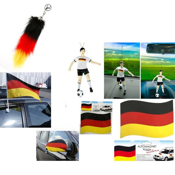 """Deutschland Fanartikel """"Autoset"""""""