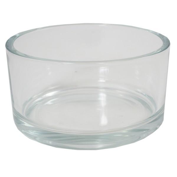 4 x Glasschale klar H 8 cm Ø 15 cm