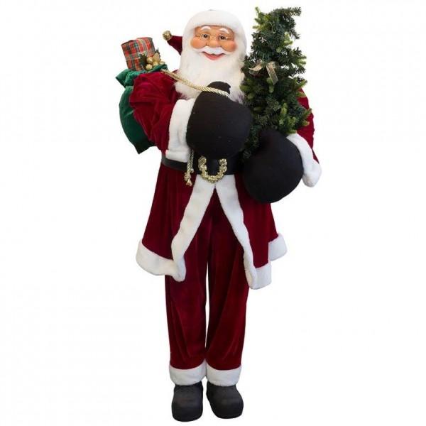 Riesiger Weihnachtsmann Philip 150 cm - Lebensgröße