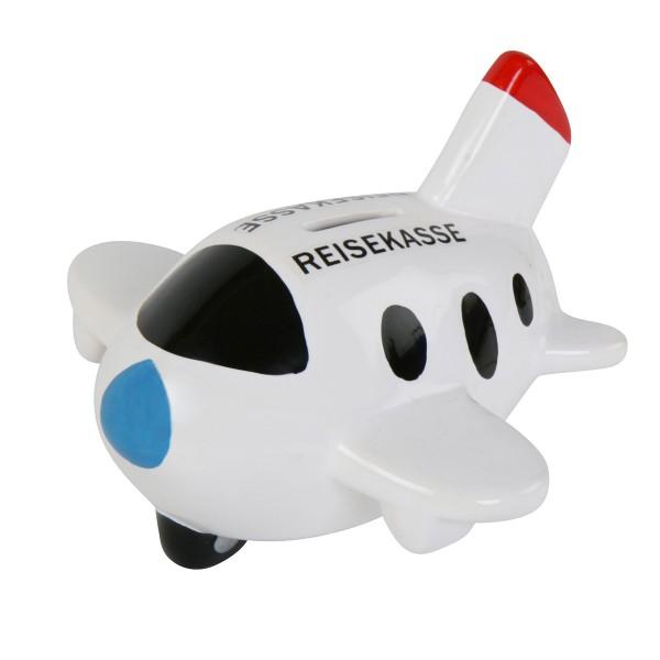 """Spardose """"Reisekasse"""" als Flugzeug"""