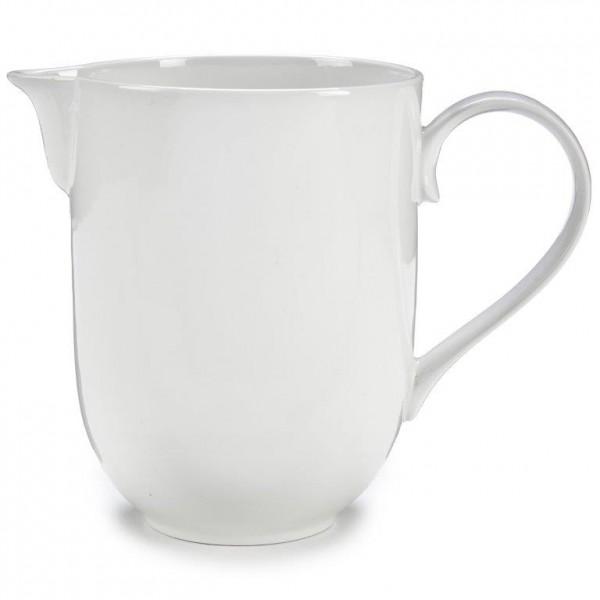 Milchkrug aus weißem Porzellan 1000 ml