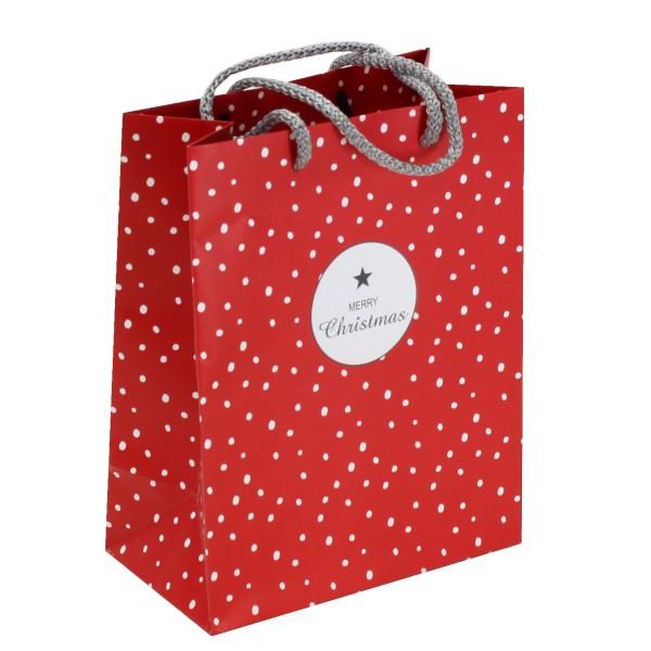 """12 x Geschenktüten und Flaschentüten """"Weihnachten"""" in stilvoller Ausführung"""