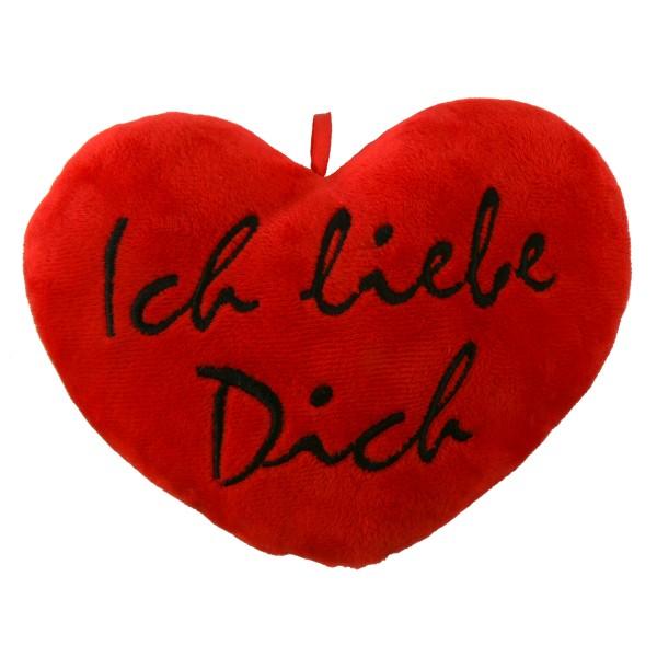 """Herzkissen """"Ich liebe Dich"""""""
