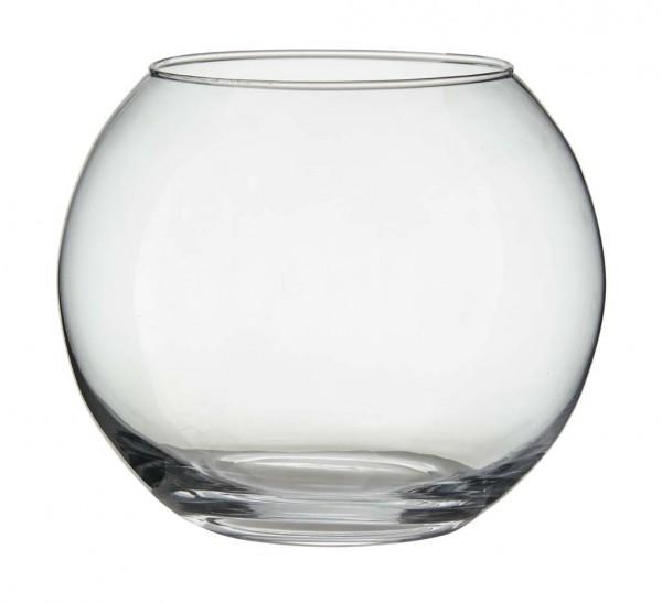 12 x Kugelglas als Windlicht, Vase oder mini Terrarium H 10 cm