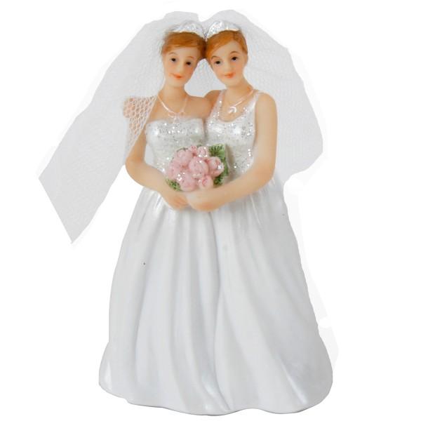 """Hochzeitspaar """"Damen"""" H 10,7 cm"""