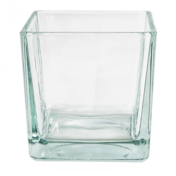 Glaswürfel für Teelicht 12-tlg. Set H 6 cm Vorpeisengläser Dessertgläser