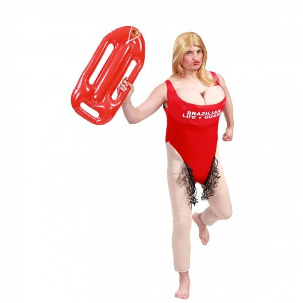 Sexy Rettungsschwimmerin - Kostüm mit Busen