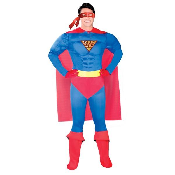 Superhelden Kostüm für Fasching und Karneval