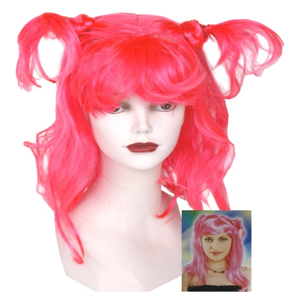 """Perücke """"Sexy"""" pink für Karneval"""