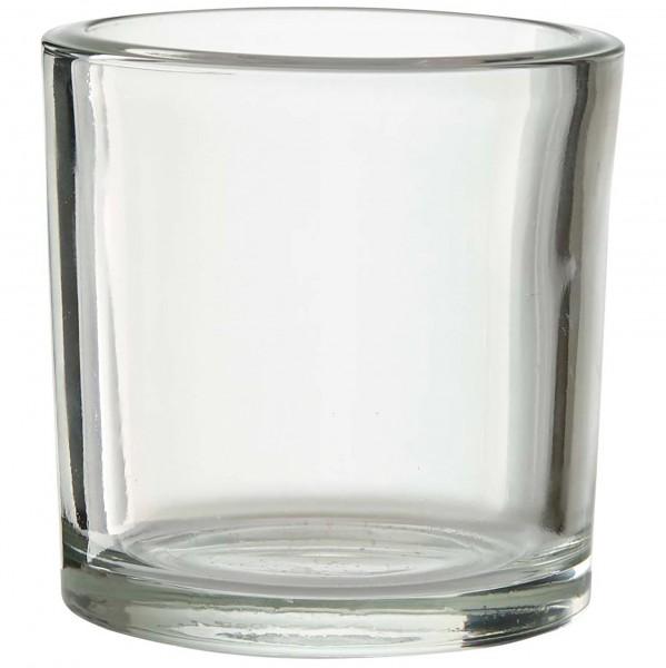 6 Stück Gläser H 8 cm - Dessertgläser-Vorspeisengläser-Windlichter
