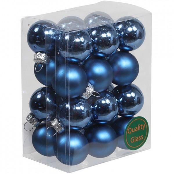 Kleine Baumkugeln aus Glas 25 mm oder 30 mm