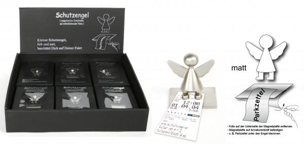 12 Stück Schutzengel Zettel- und Fotohalter mit Magnet