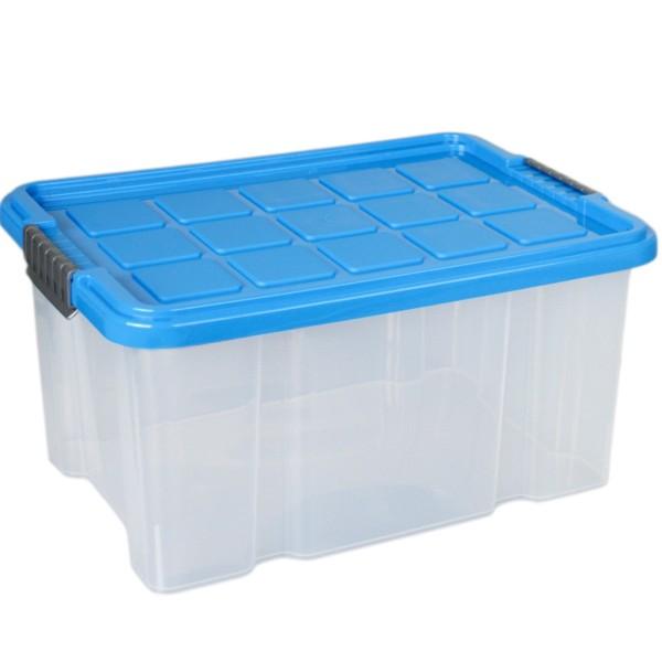 Aufbewahrungsbox stapelbar mit Deckel 15 Liter