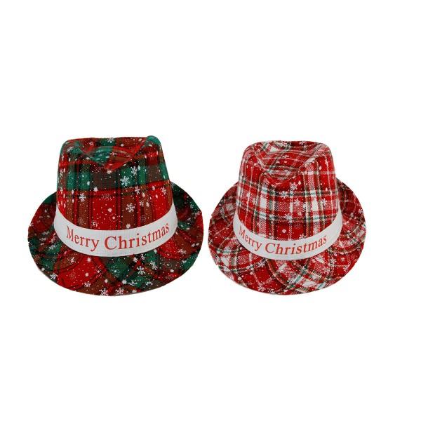 "2-tlg. Set Hut ""Merry Christmas"""