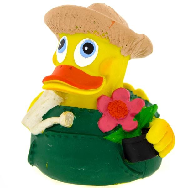 Badeente Gärtner Duck aus Kautschuk