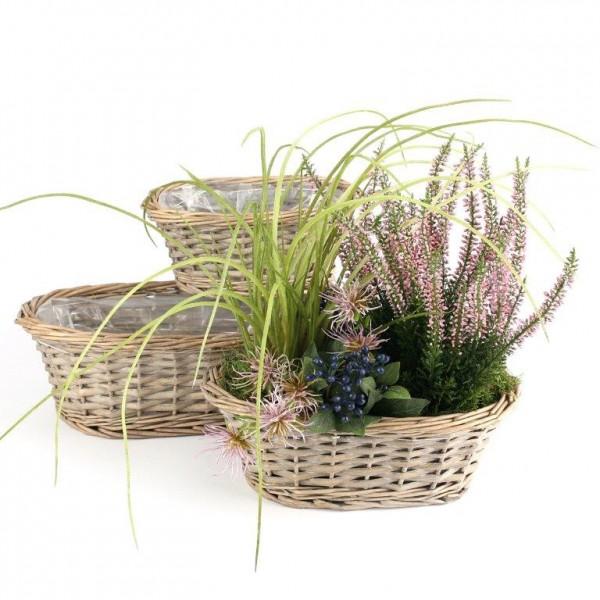 Weidenkorb mit Henkel in hochwertiger Verarbeitung