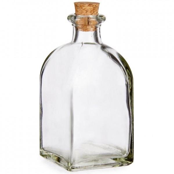 Flaschen aus Glas mit Deckel aus Kork