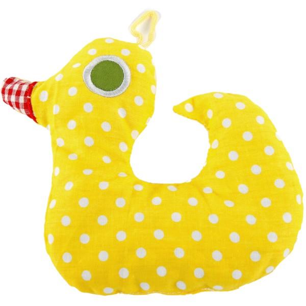 Kirschkernkissen ENTE für Kinder und Babys ca. 20 cm