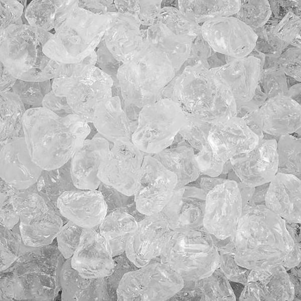 Glassteine zur Dekoration, 1 kg Beutel, 1 - 2 cm