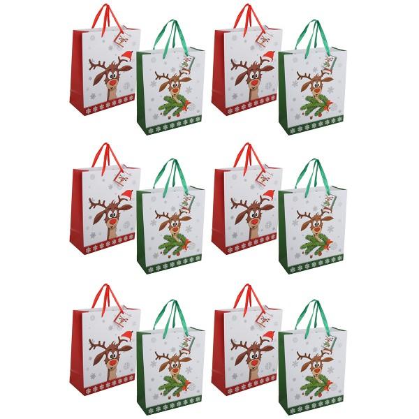 """12 Stück Geschenktüten """"Didi"""" H 32 cm"""