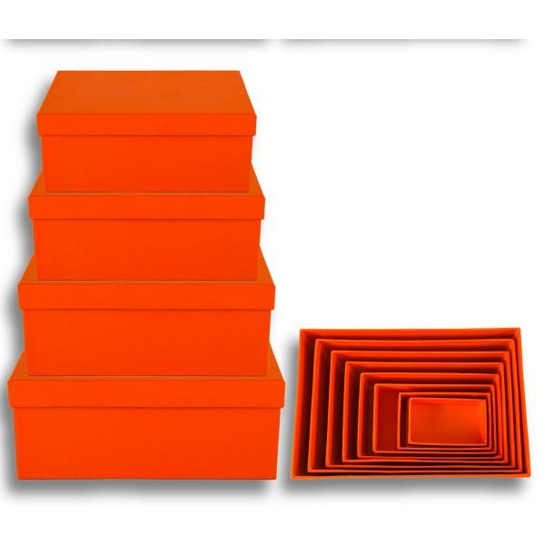 Geschenkkarton 8-tlg. Set, orange