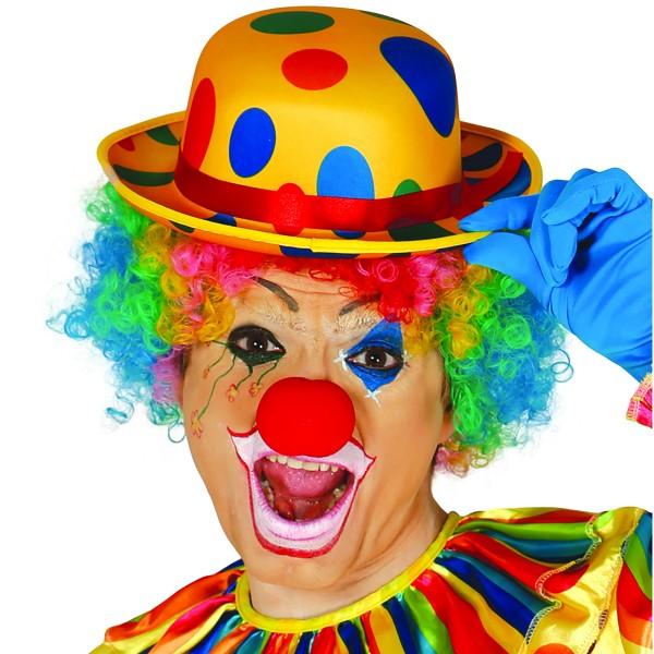Clownshut gepunktet in stabiler Ausführung