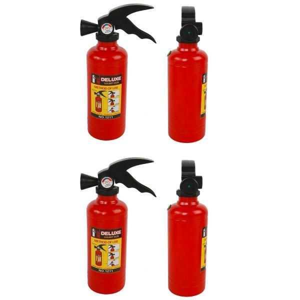 Wasserpistole Feuerlöscher 4-tlg. Set