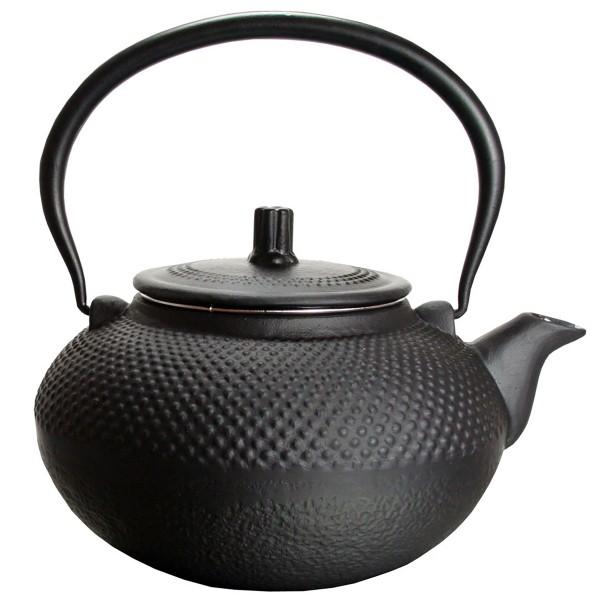 Teekanne aus Gusseisen mit Sieb aus Edelstahl von 0,8 Liter - 1,5 Liter