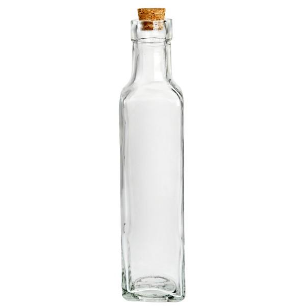 12 x Glasflaschen mit Korken