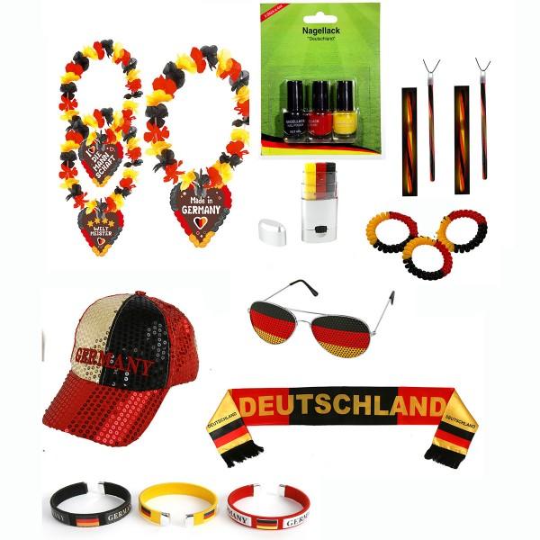 Coole Deutschland FANPOWER für Sie und Ihn 16-tlg. Set