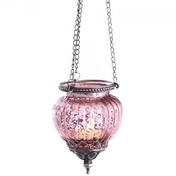 Teelichthalter zum Hängen in stilvollem Vintage Look L 47 cm