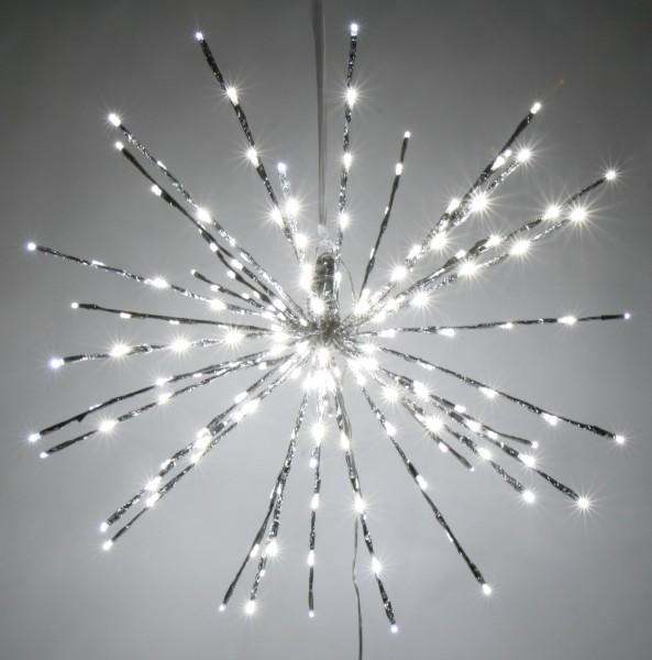Stern zum Hängen mit 80 LEDs, kupfer Ø 30 cm