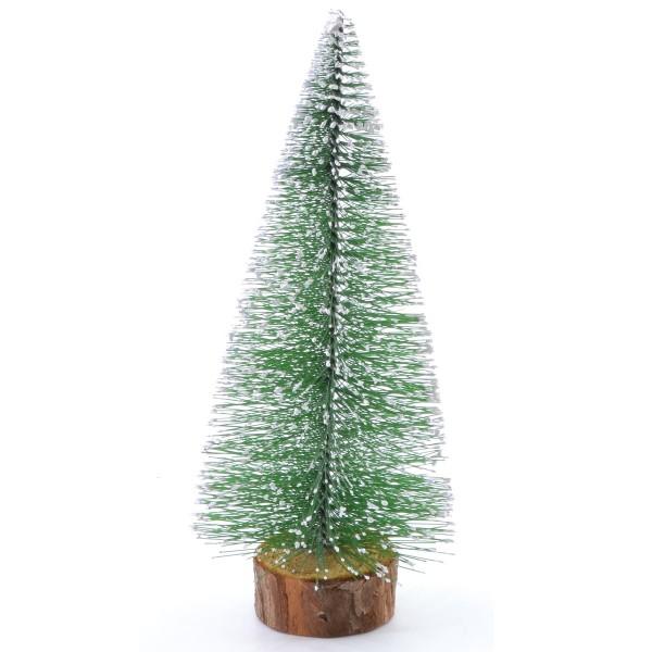 Weihnachtsbaum mit Schneespitzen H 25 cm