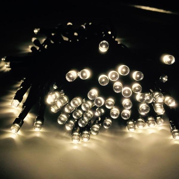 Lichterkette LED 96er mit Timer, batteriebetrieben