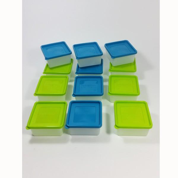 12 Stück Tiefkühldosen 0,5 Liter -40 °C bis +95 °C