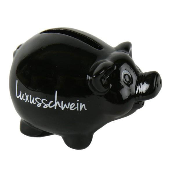 """Sparschwein """"Luxusschwein"""" aus Dolomit"""