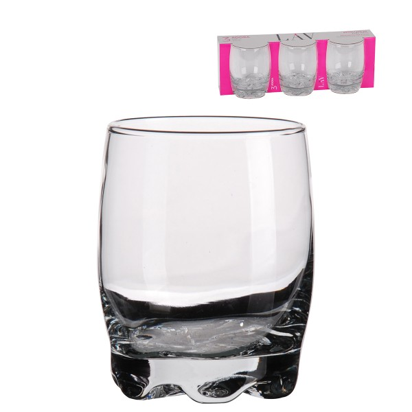 """3-tlg. Set Whiskey-Gläser """"Adora"""" 290 ml"""