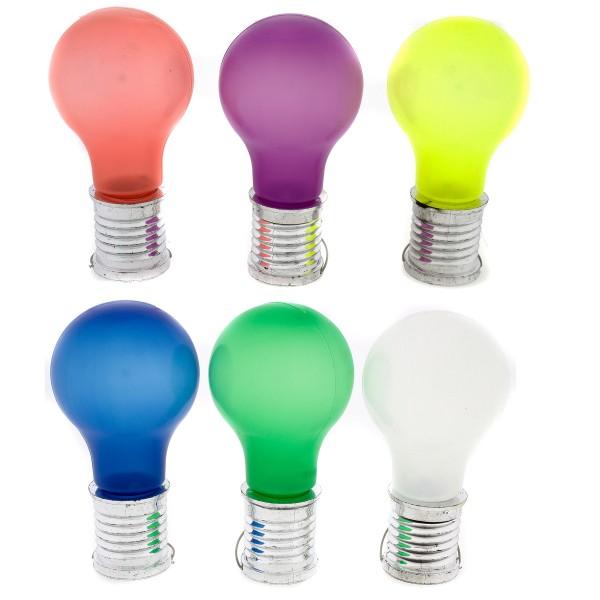 """6 x Solarlampe """"Glühbirne"""" zum Hängen für Außen, Solar Partybeleuchtung"""
