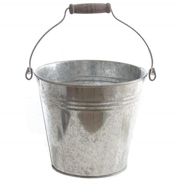 Metalleimer verzinkt mit Henkel