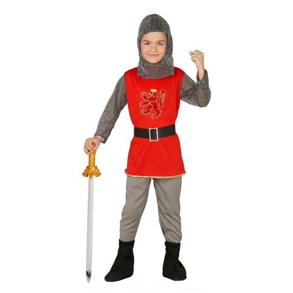 4-tlg. Set Ritter Kostüm Mittelalter für Kinder
