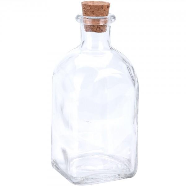 Glasflaschen mit Korken sehr variabel einsetzbar